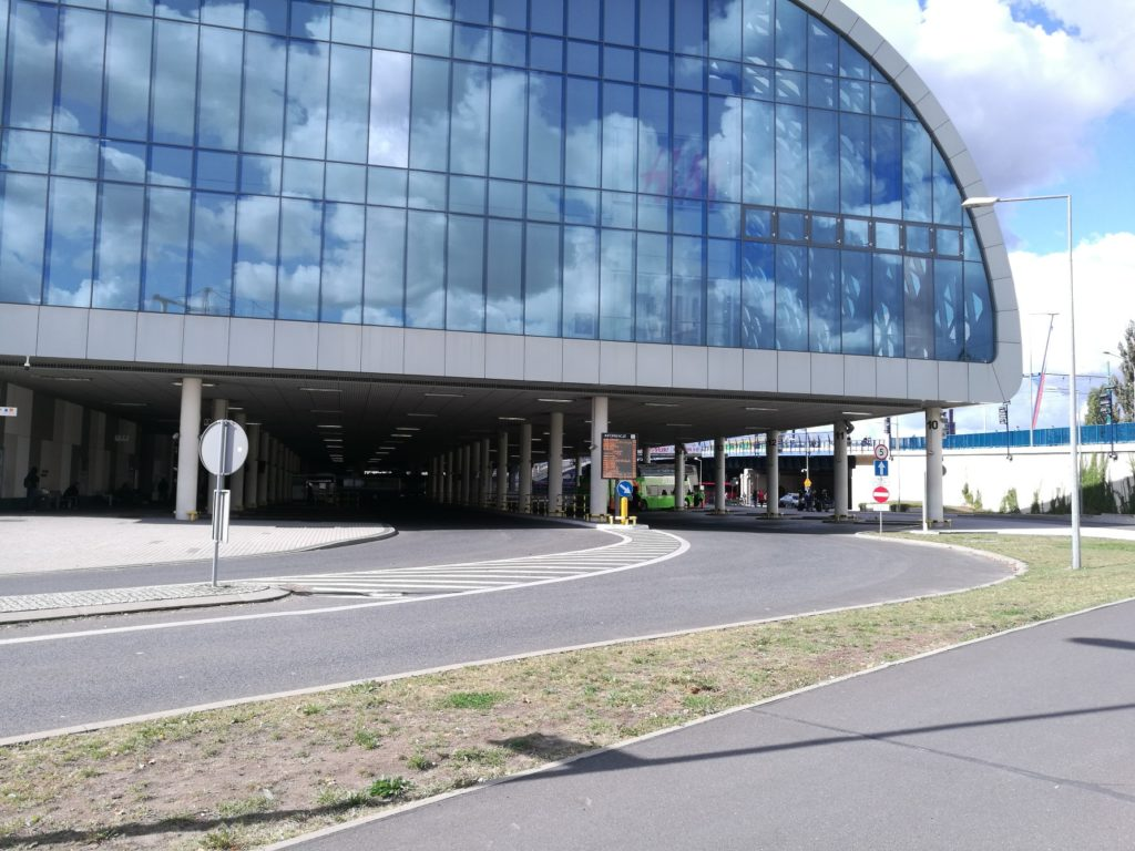 La gare routière de Poznan