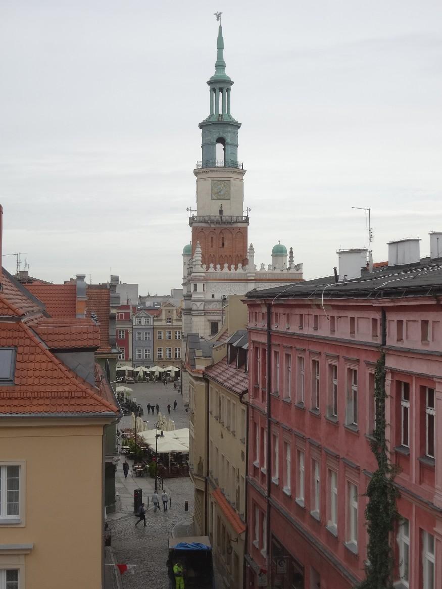 Balade dans Poznan, la place centrale