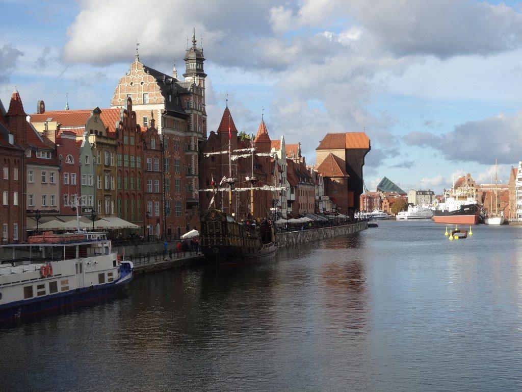 Les canaux de Gdansk