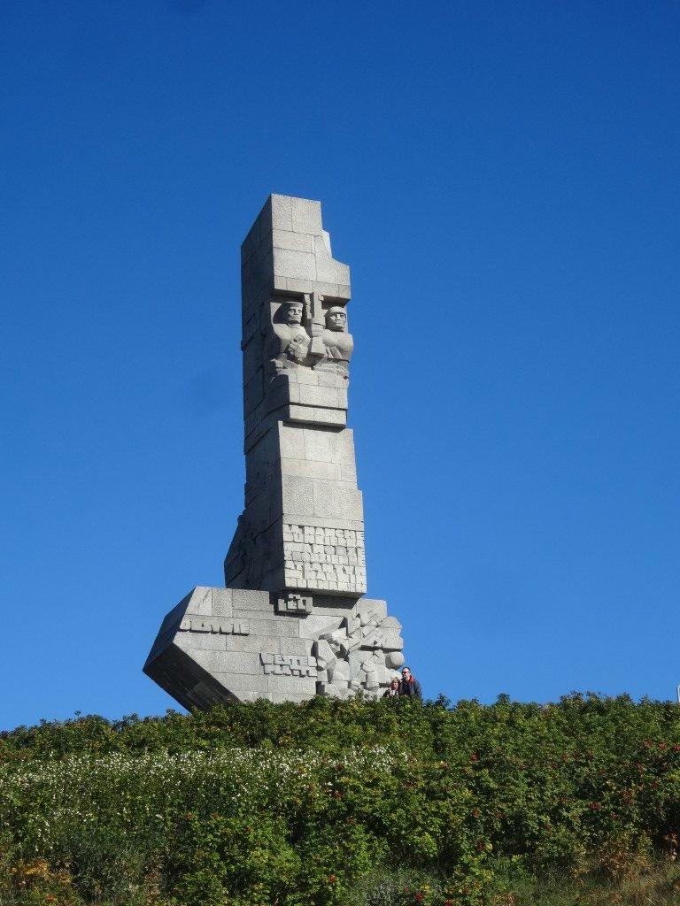 Le mémorial de la 2nd Guerre Mondiale à Westerplatte à Gdansk