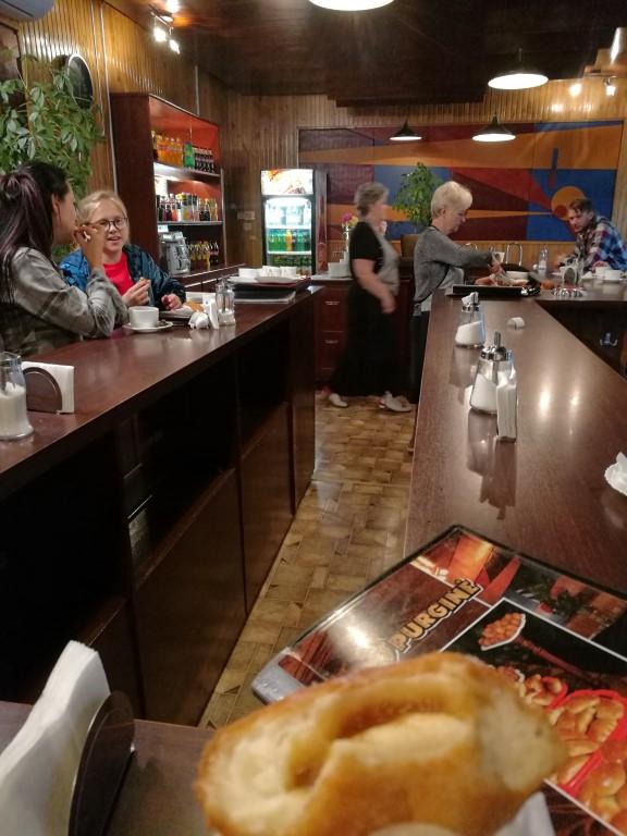 Le bar à beignets de Kaunas