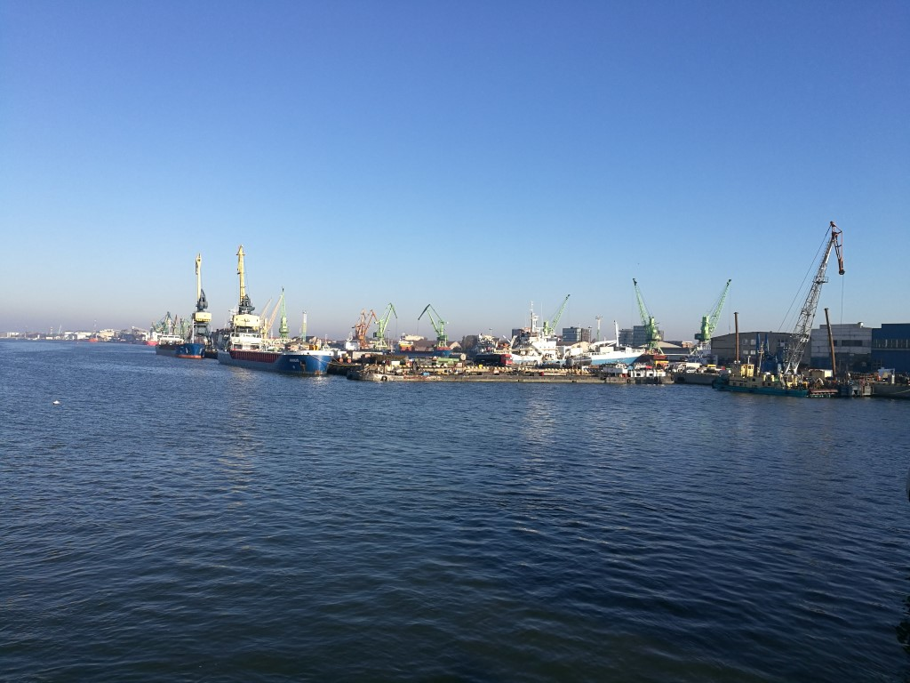 Le port de Klaipeda