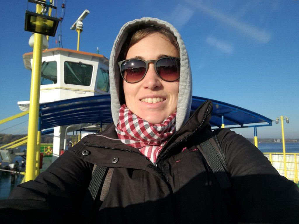 Sur le ferry au départ de Klaipeda direction l'Isthme de Courlande