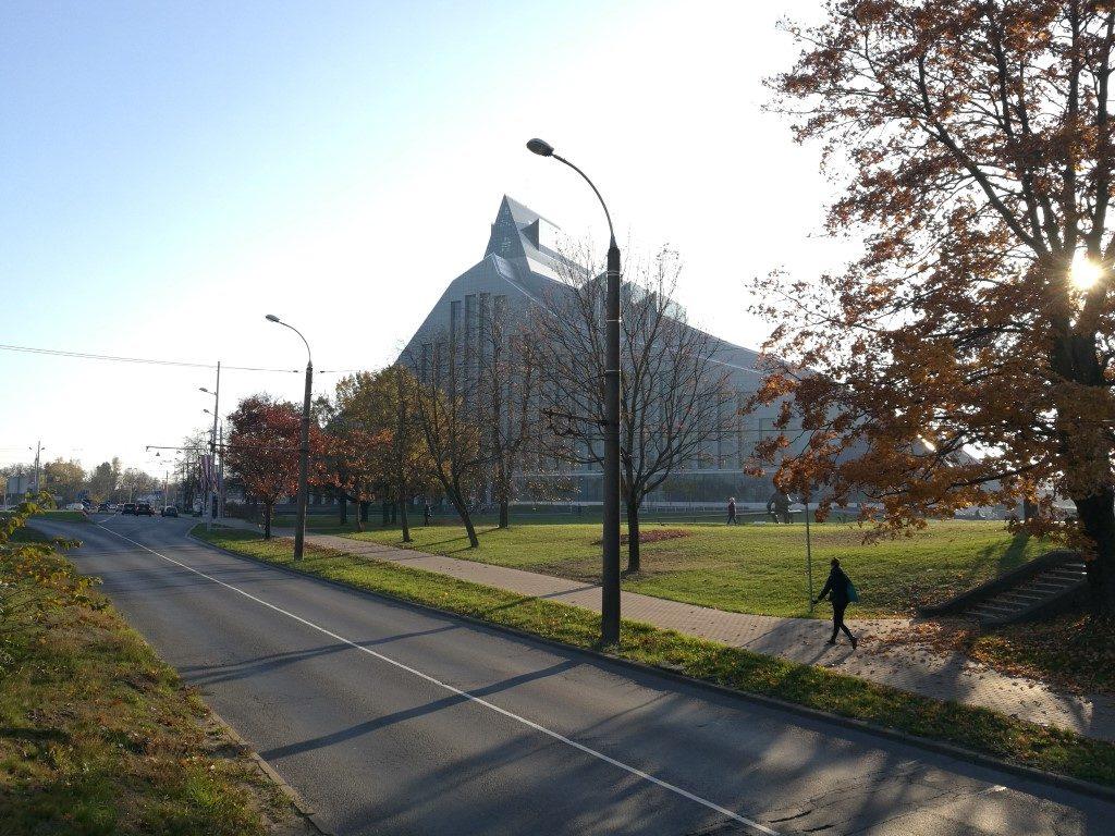 La Bibliothèque de Riga