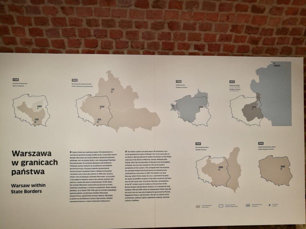 Les évolutions du territoire de la Pologne depuis 966