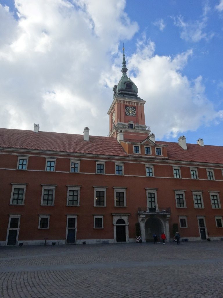 Le Palais Royal de Pologne, complètement rénové dans les années 70