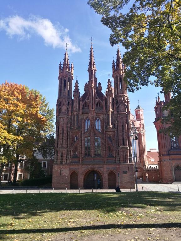 La plus grande Cathédrale de Vilnius