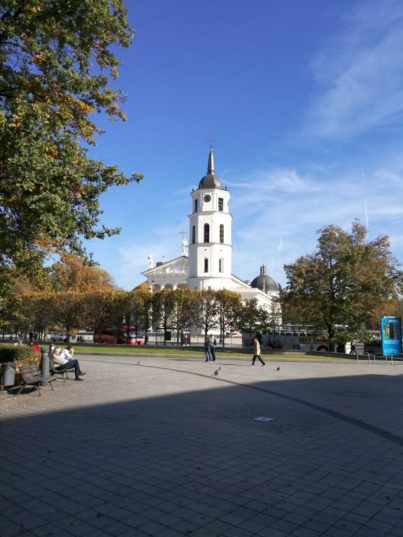 La Cathédrale de Vilnius et sa place dans la vieille ville