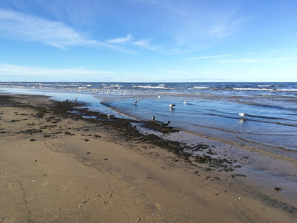 La plage de Jurmala