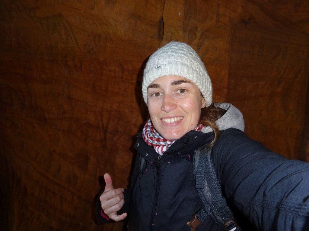 Dans la grotte du parc Gauja