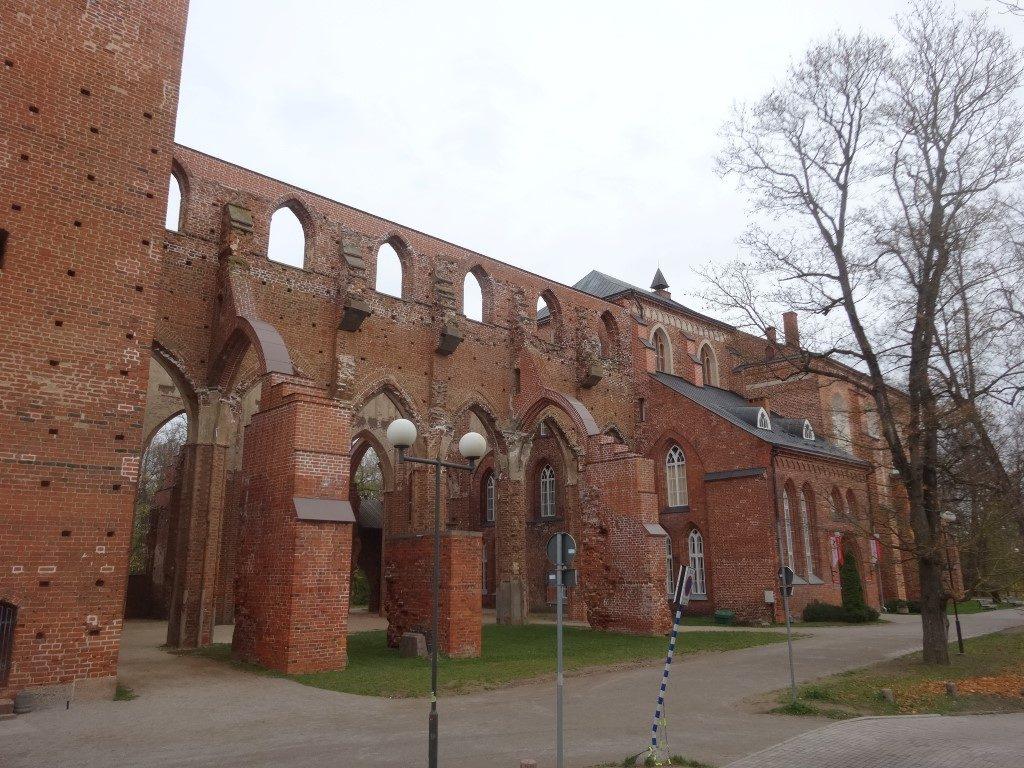 L'ancienne cathédrale de Tartu