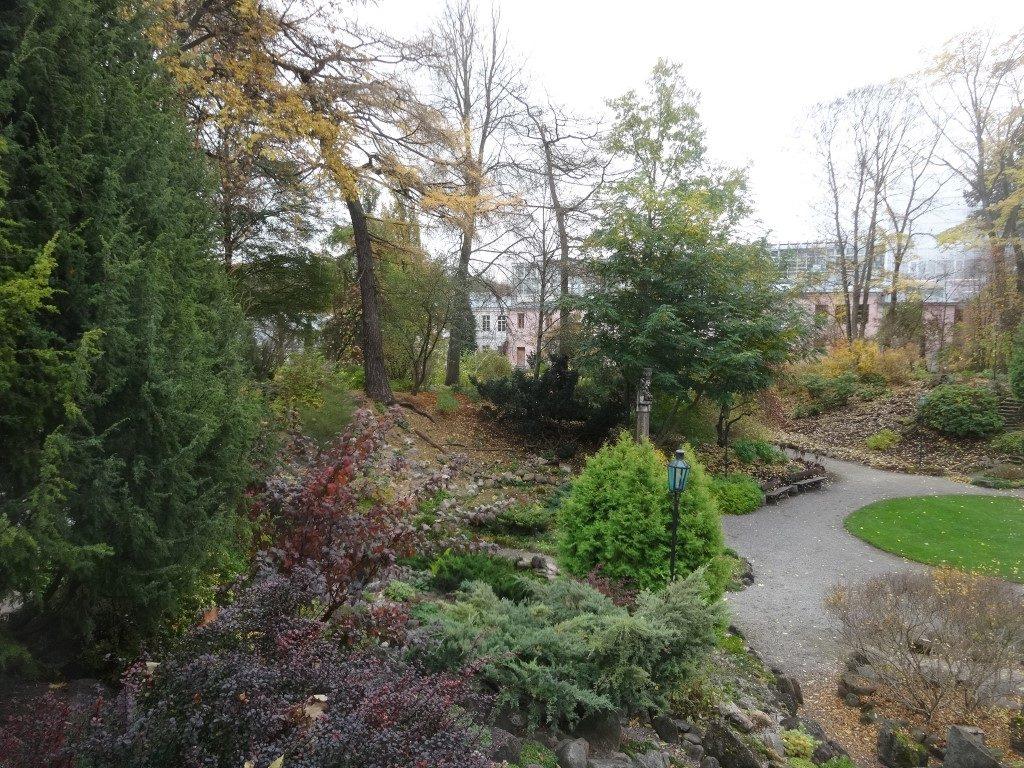 Le jardin botanique de Tartu
