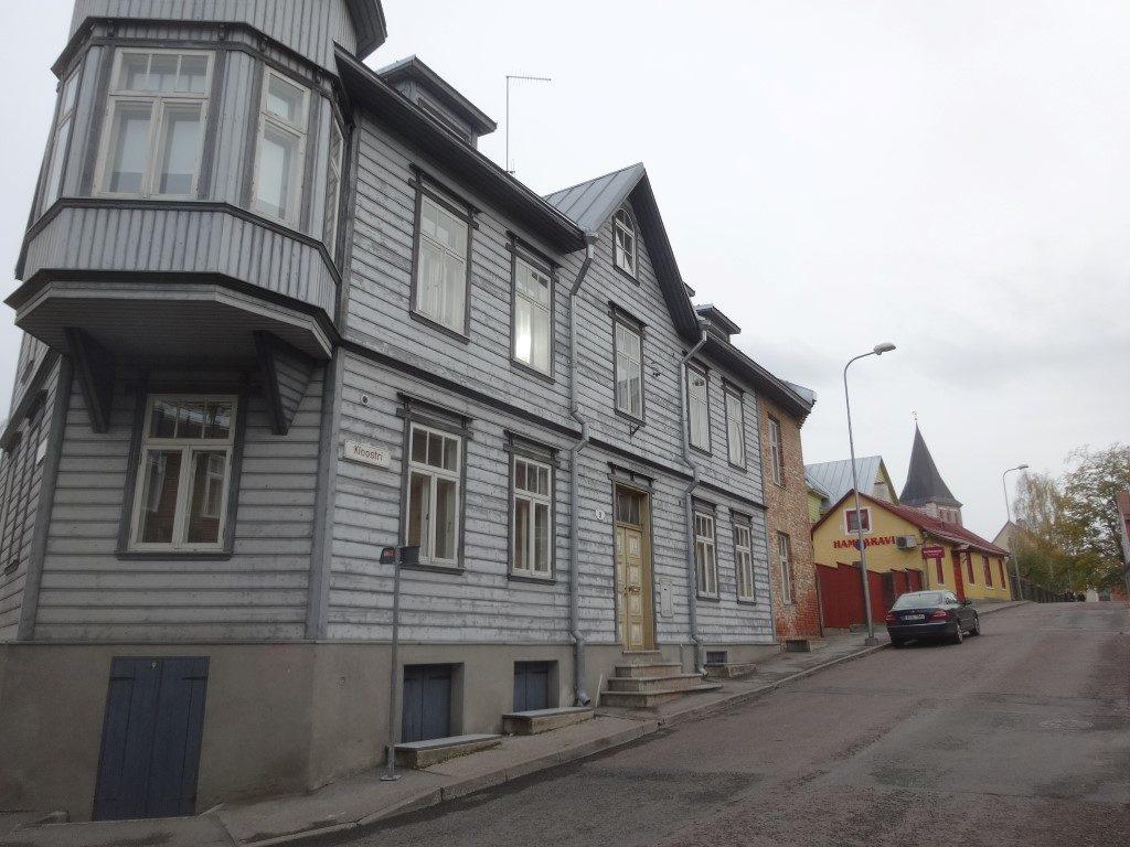 Les maisons en bois de Tartu