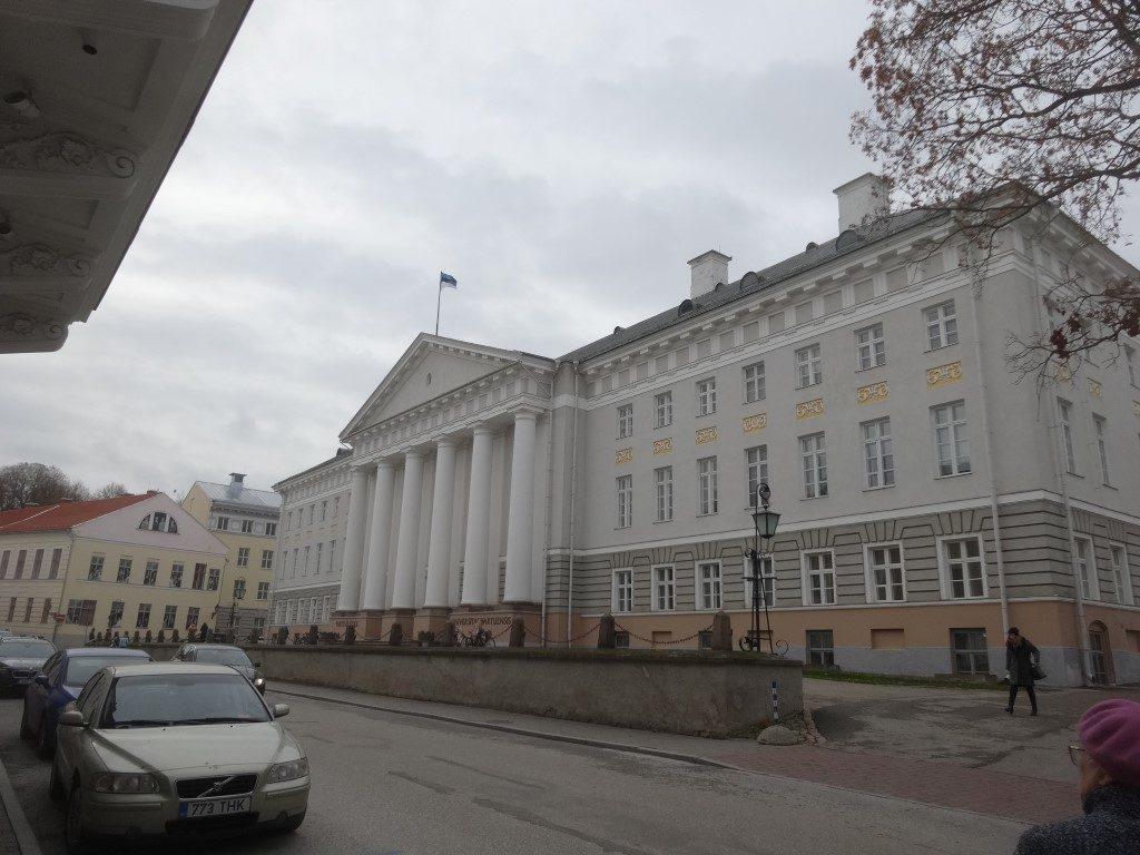 Un des bâtiments de l'université de Tartu