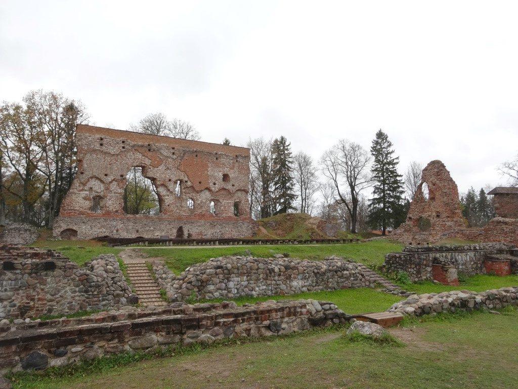 Les ruines du chateau de Viljandi