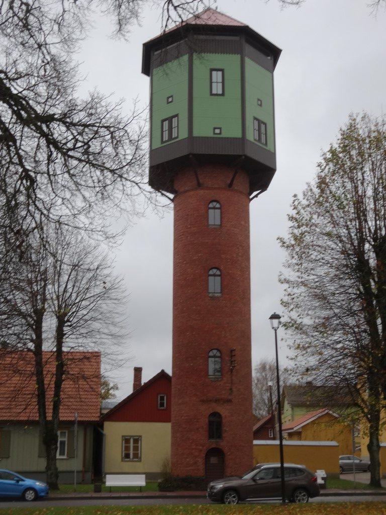 Ancien chateau d'eau de la ville.
