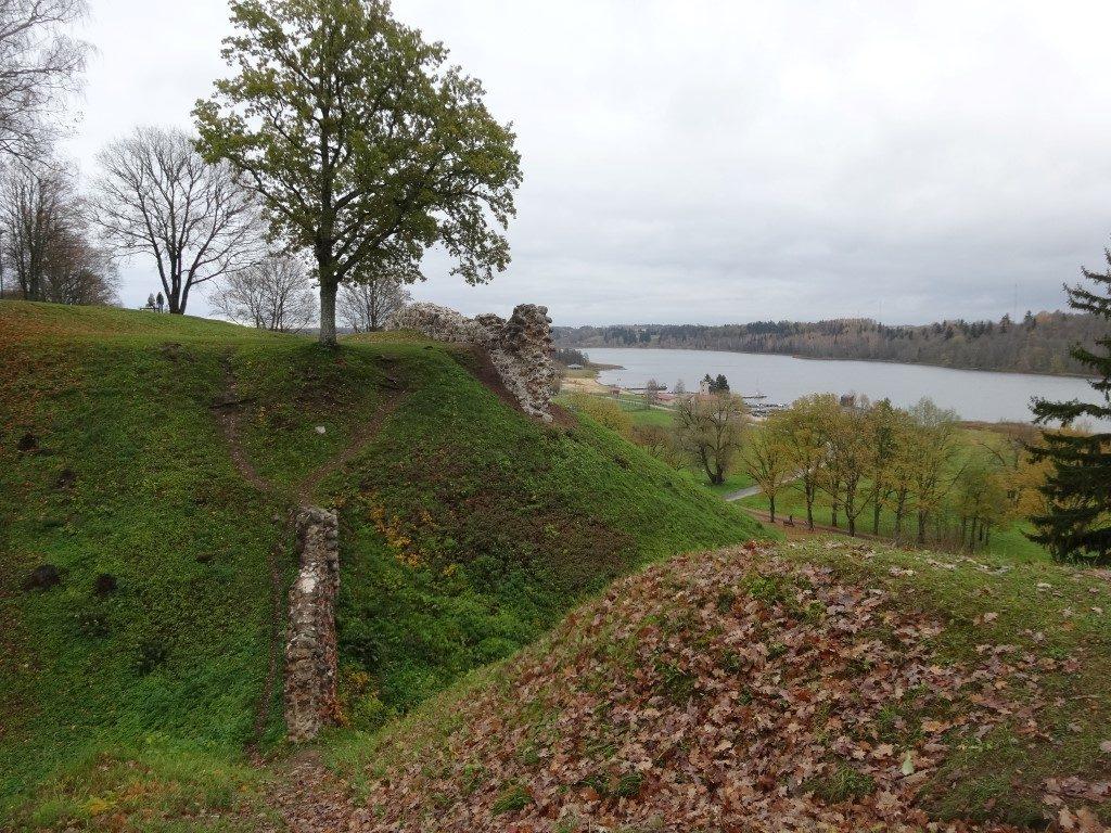 Vue depuis les ruines du chateau