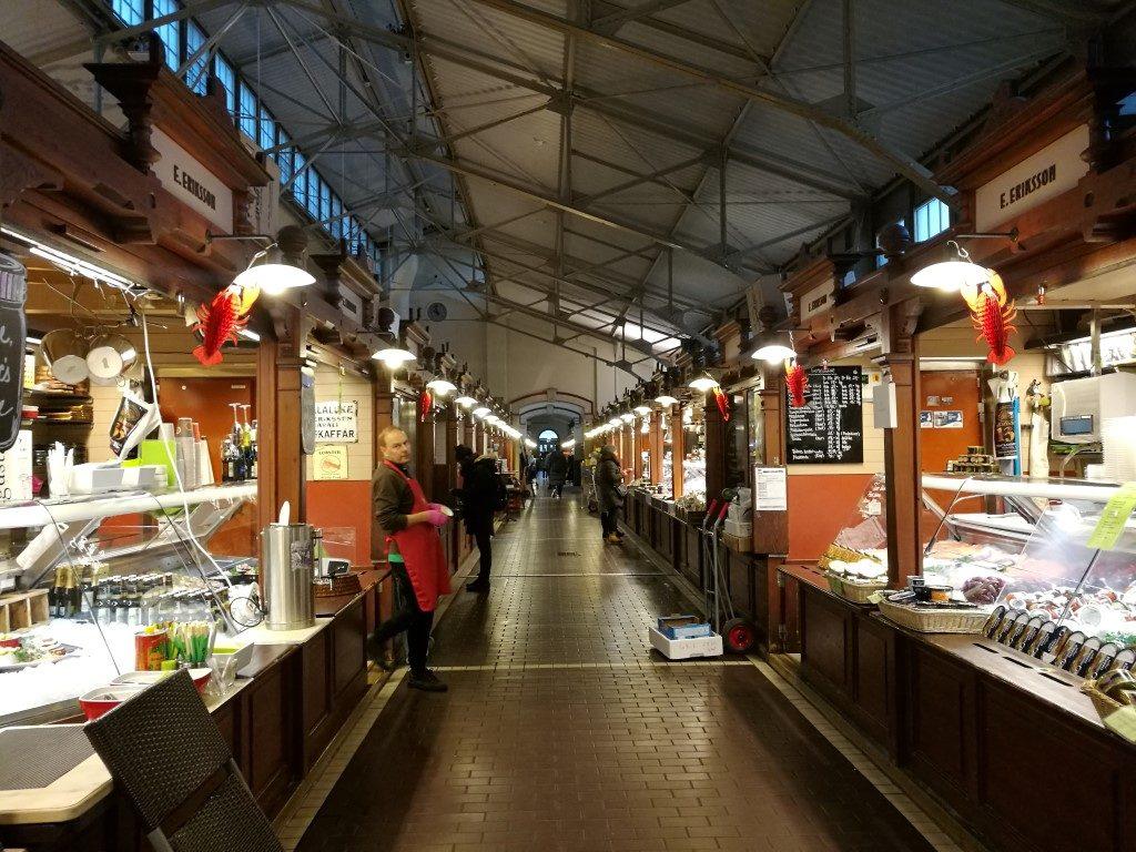 Le marché couvert d'Helsinki