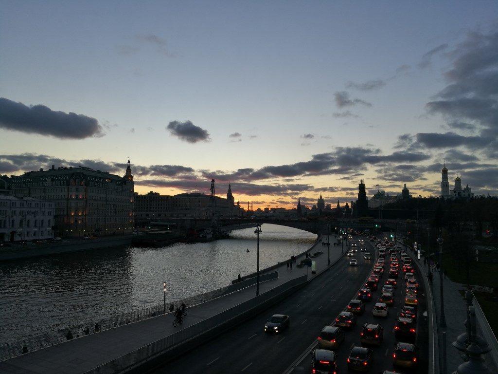 La rivière Moskva