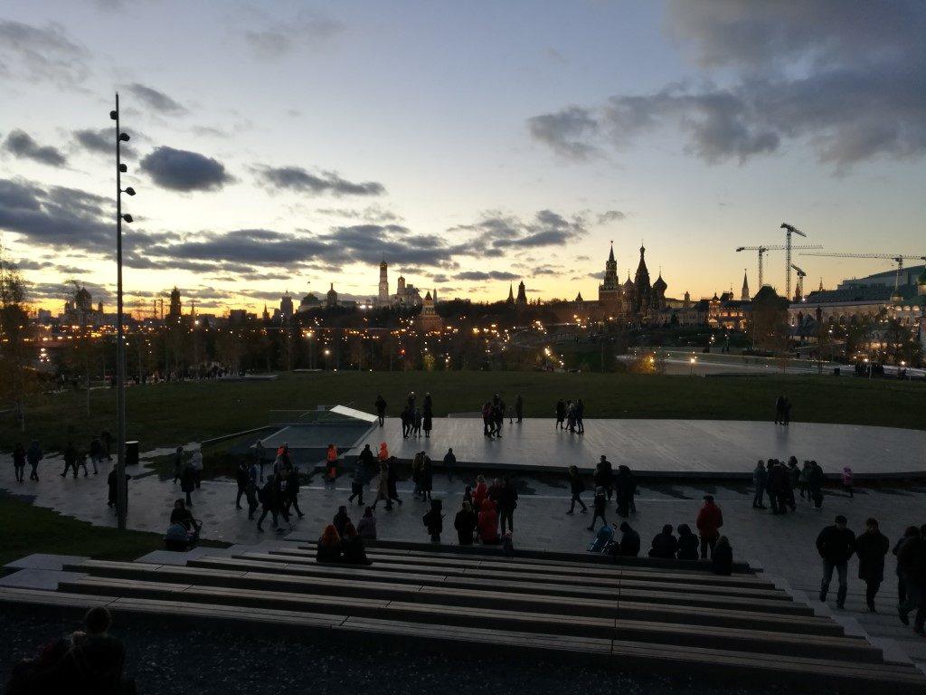Point de vue sur le Kremlin