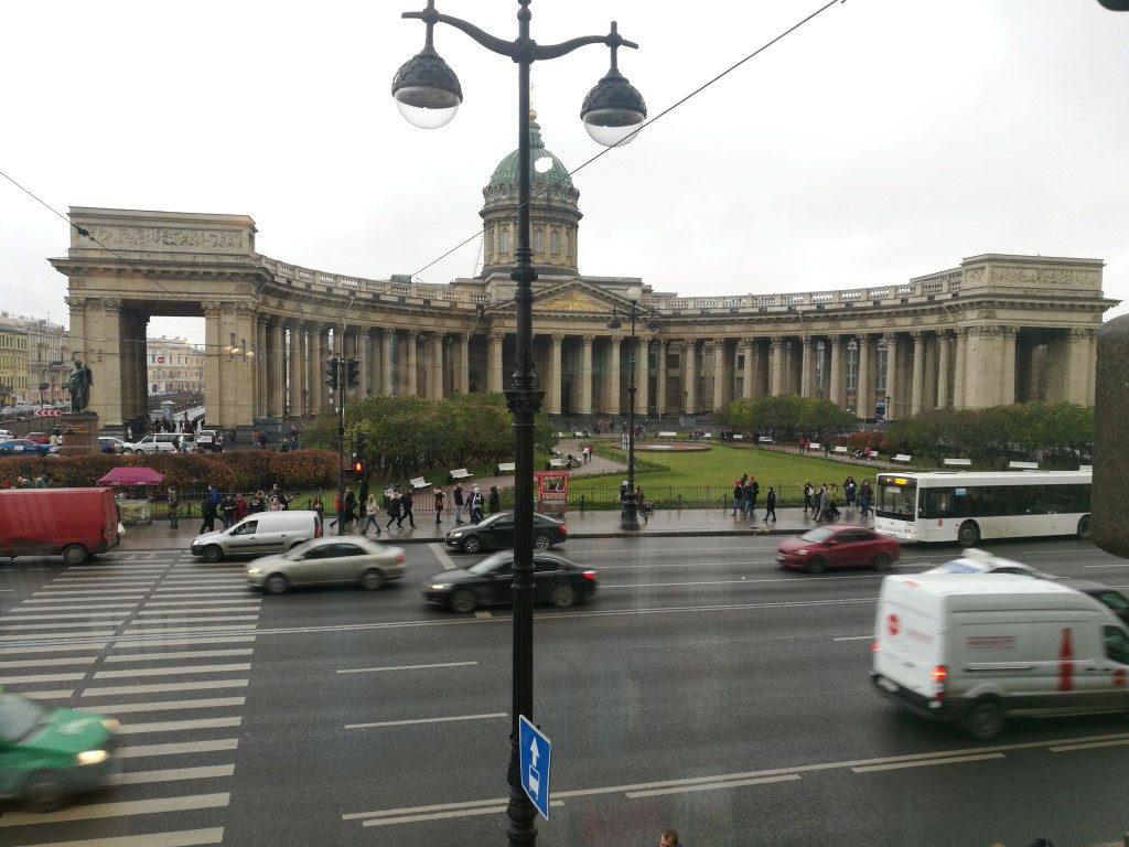 Au détour des rues, exemples d'architecture soviétique
