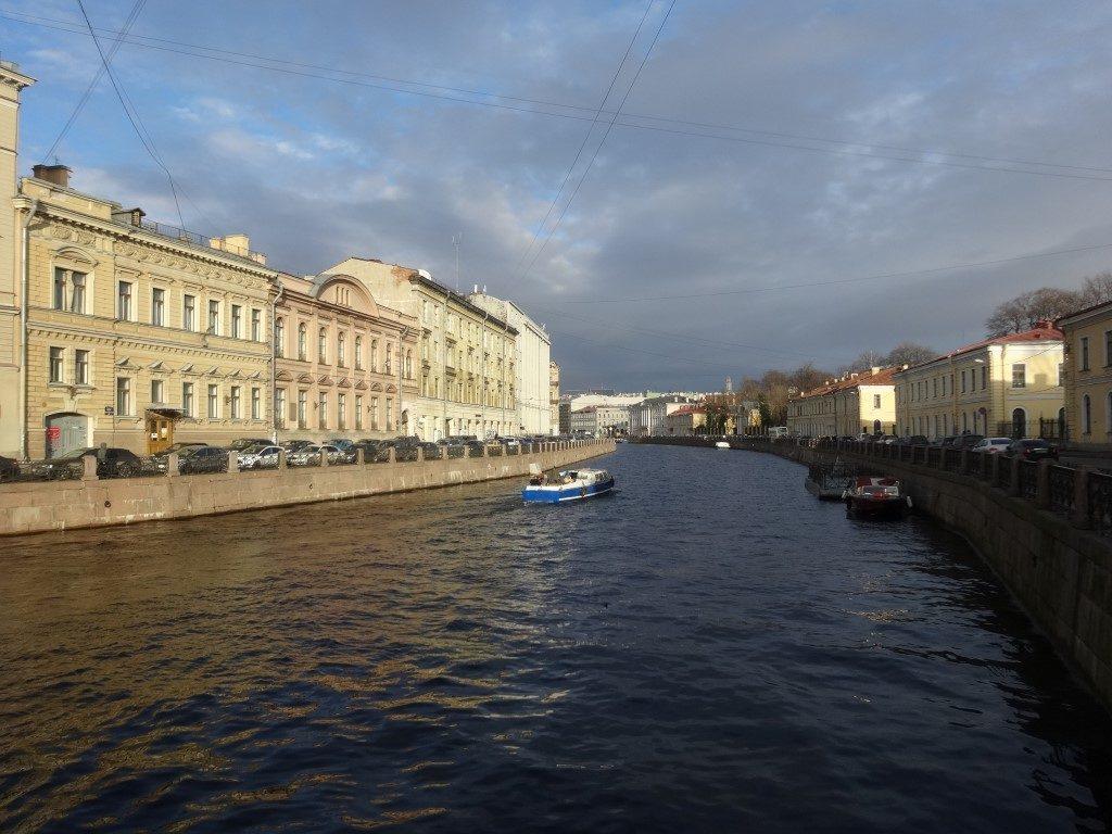 Les canaux de Saint-Petersbourg