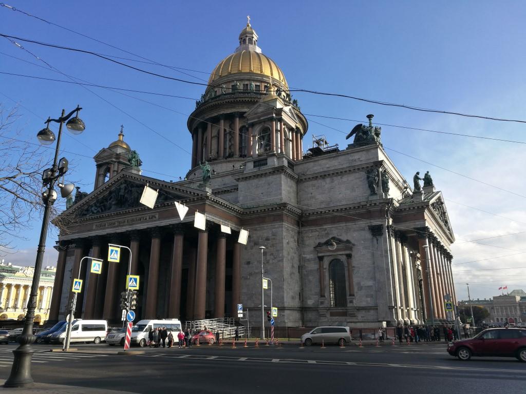 La cathédrale Saint Isaac
