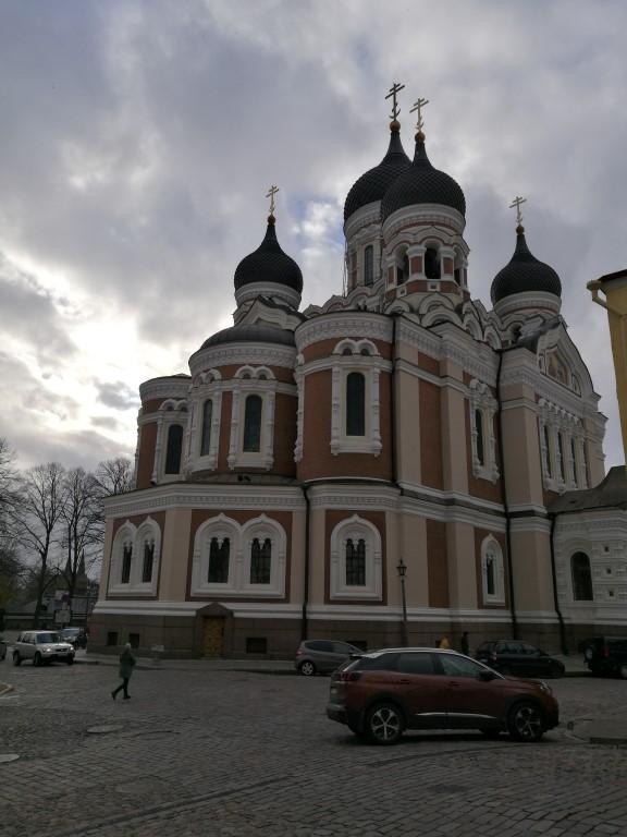 La Cathédrale orthodoxe qui domine Tallinn