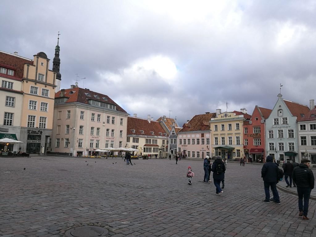 La place principale de Tallinn