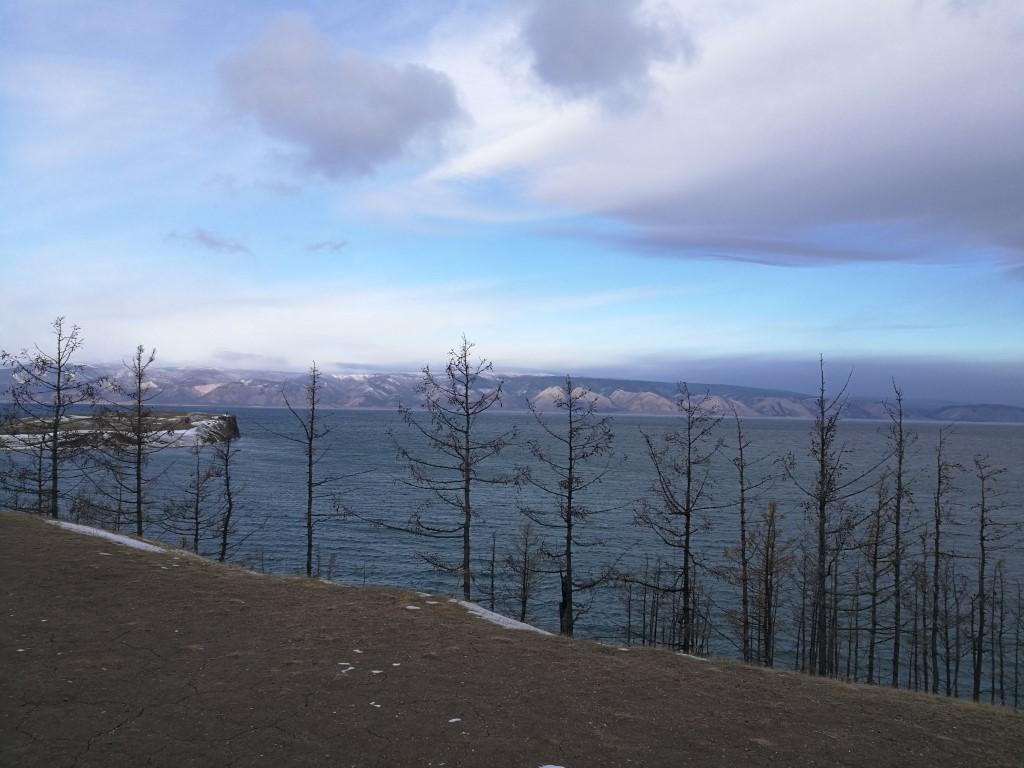 Le paysage exceptionnel du Lac Baikal