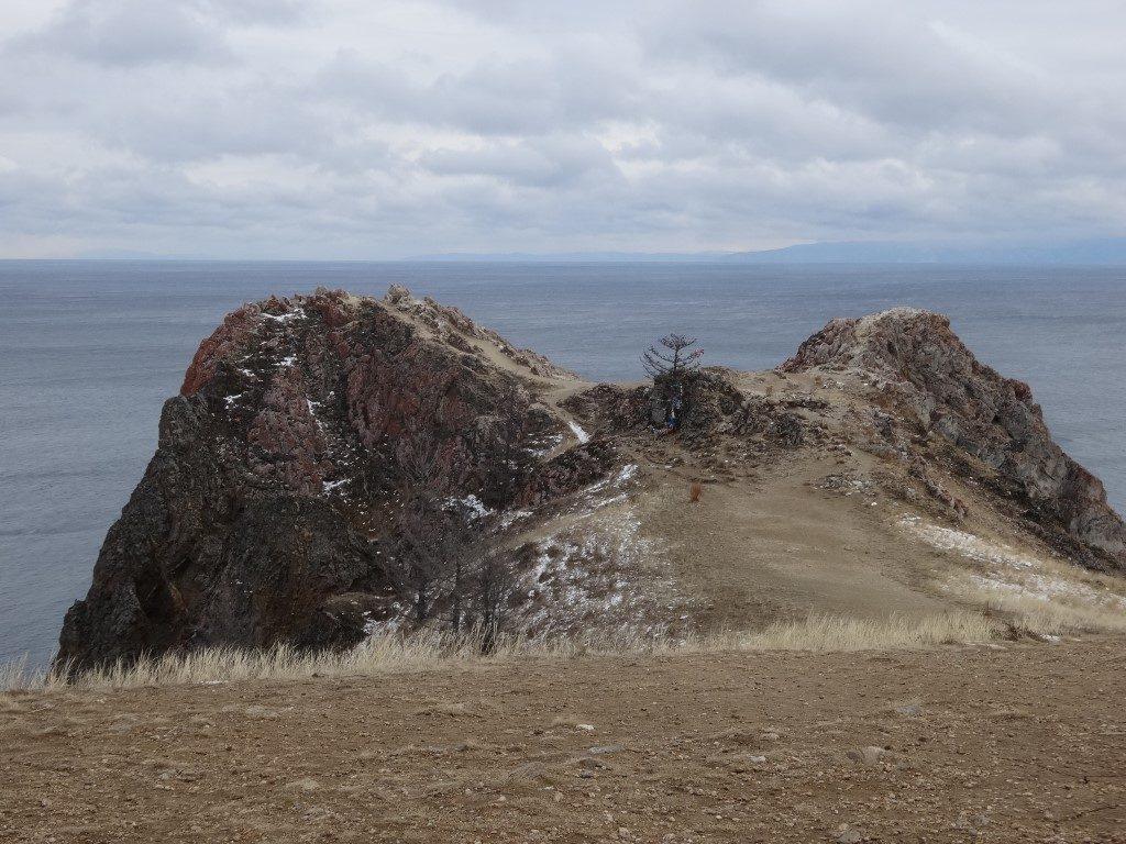 Au bout de l'île d'Olkhon