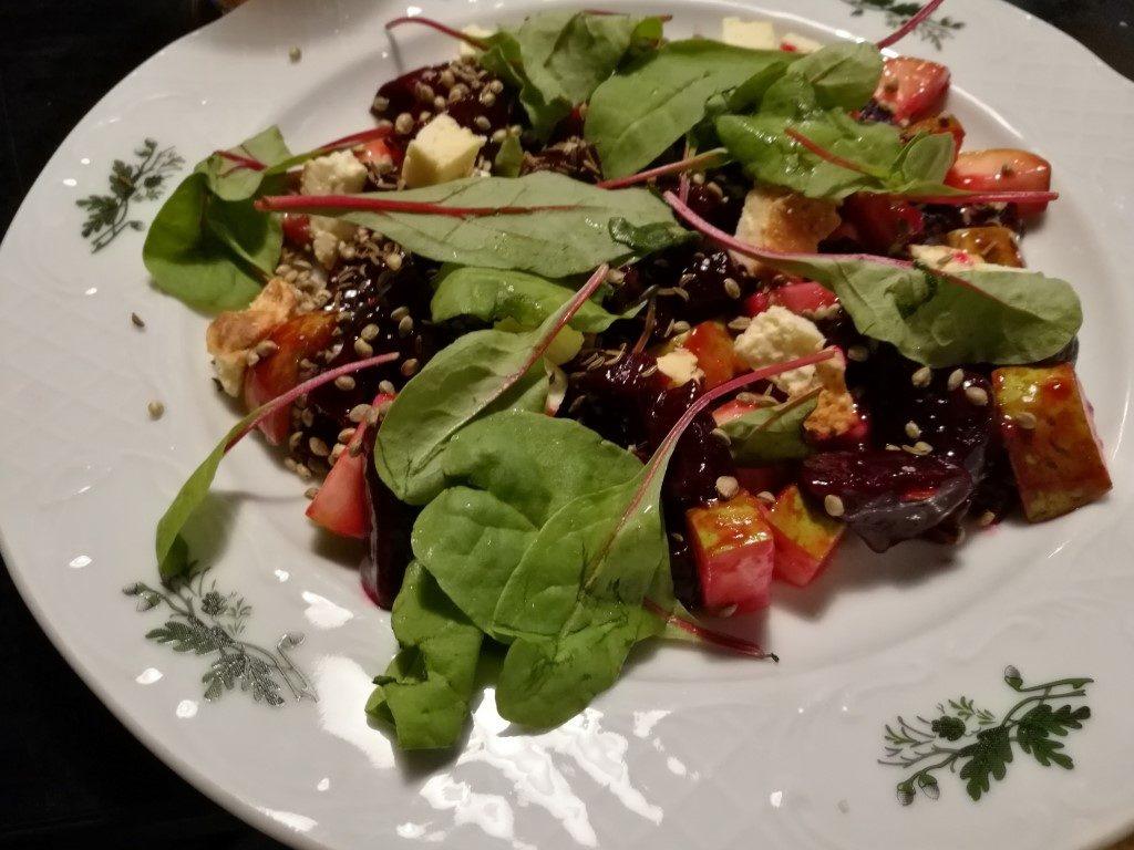 La salade de betterave