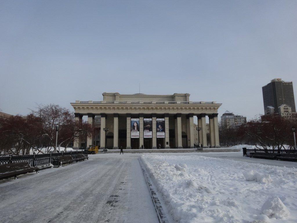 Le théâtre de Novosibirsk