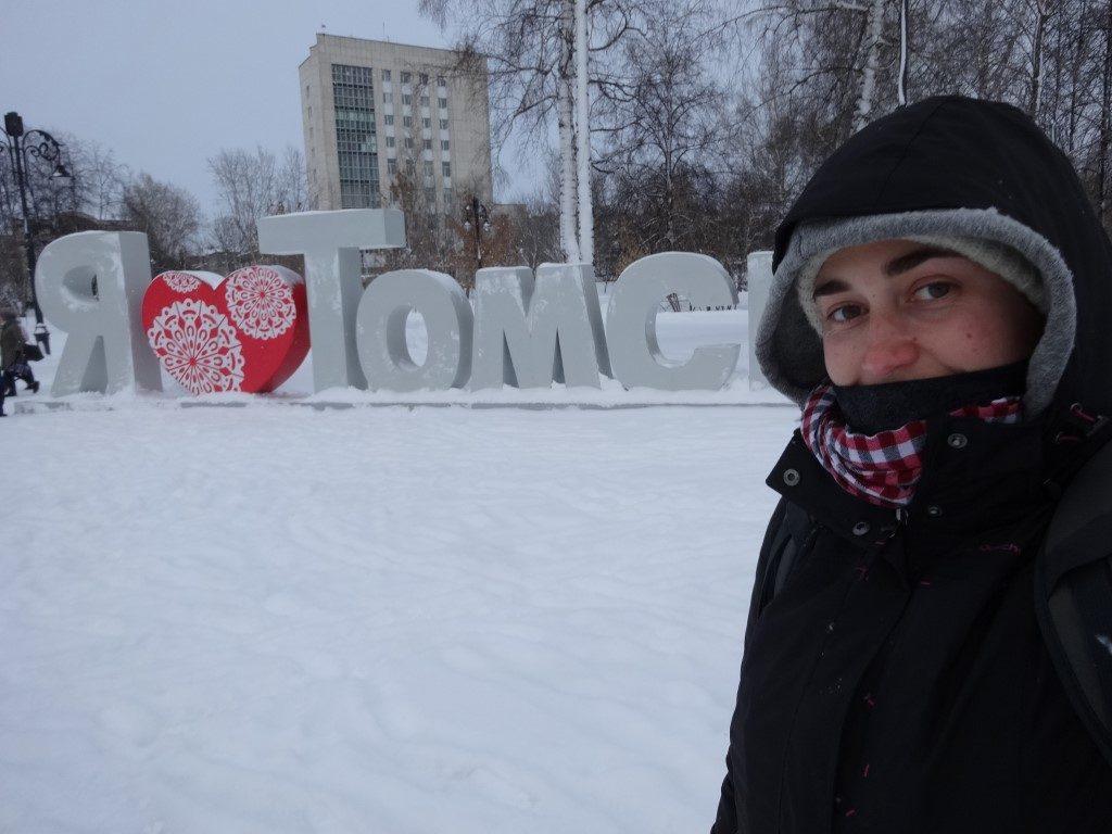 Tomsk, il fait toujours aussi froid en Sibérie