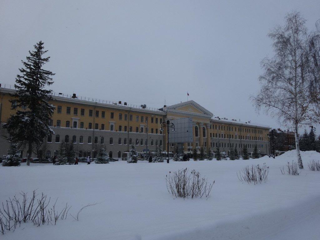 Tomsk, la grandeur administrative Russe passe surtout par la taille des bâtiments