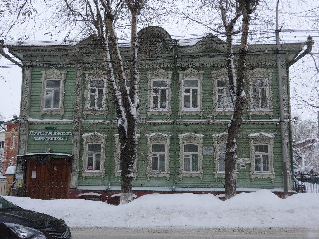 Les maisons en bois typique de Sibérie