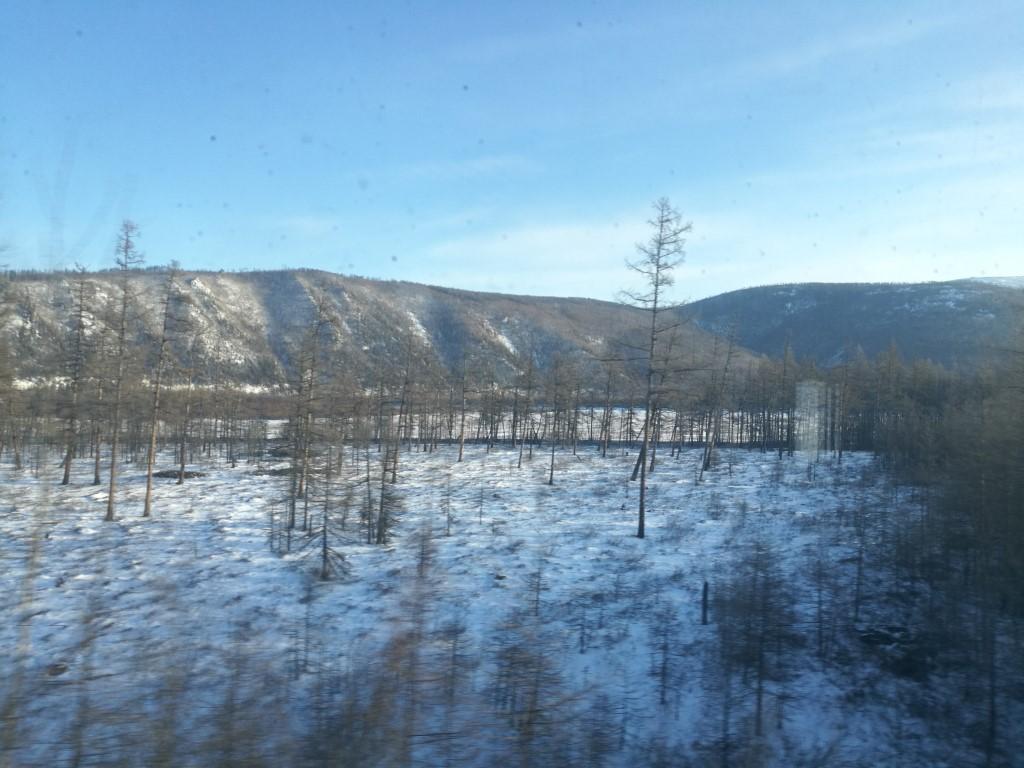 Les paysages sur la ligne Baïkal-Amour