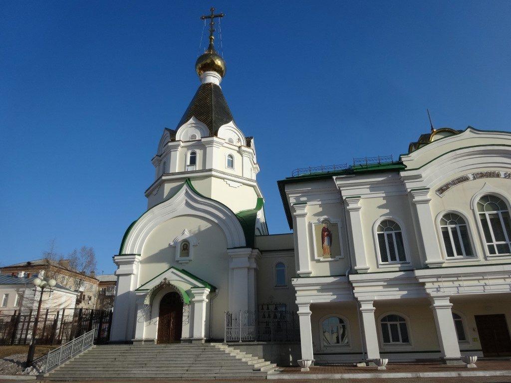 Une des nombreuses églises orthodoxe de Khabarovsk