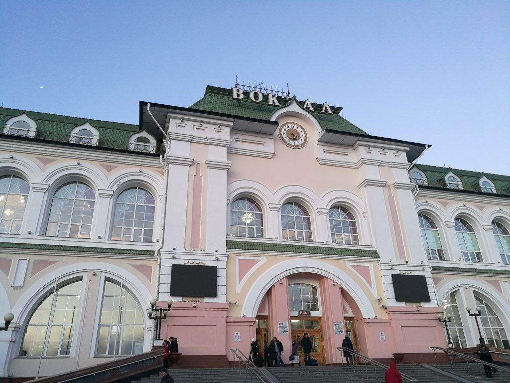 La gare de Khabarovsk