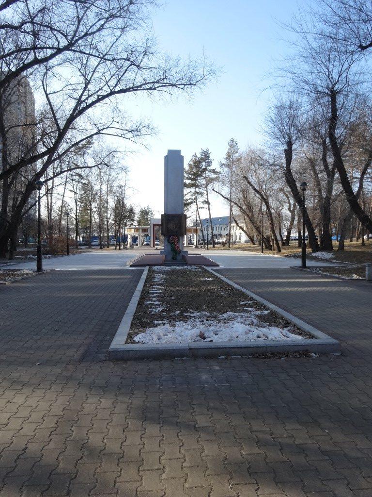La zone piétons de Khabarovsk