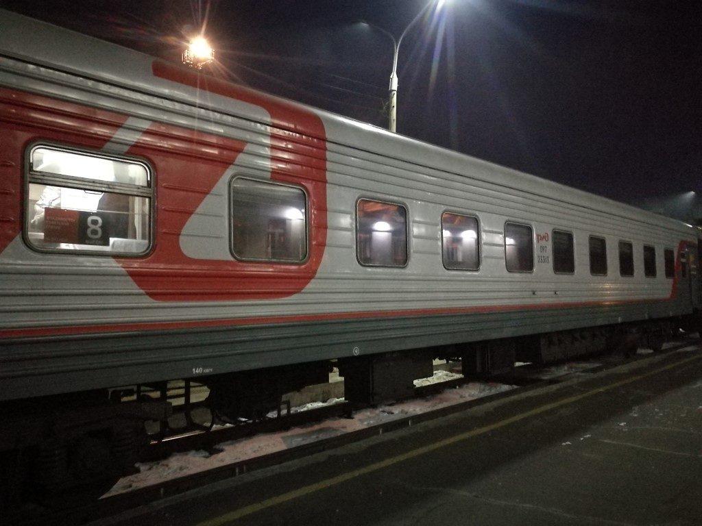 Un des wagons du Transsibérien