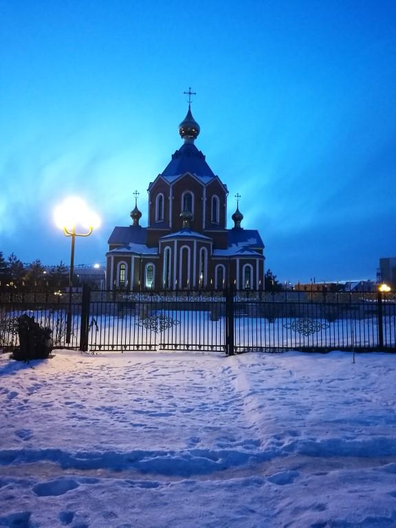 La mosquée de Komsomolsk