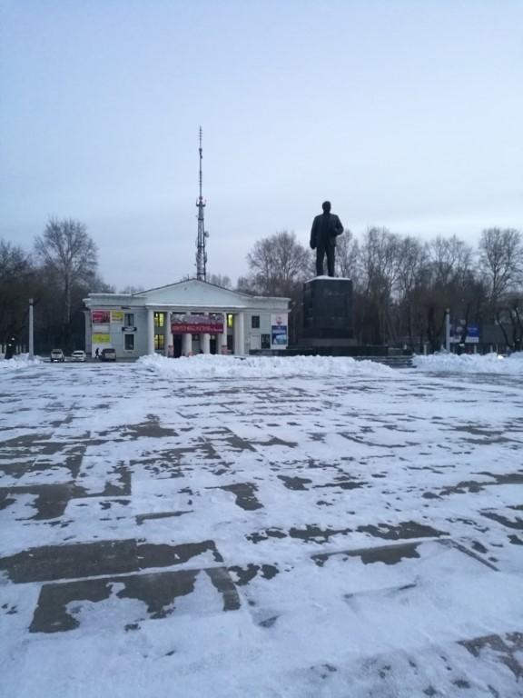 La statue de Lénine