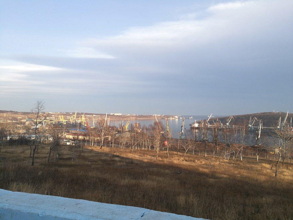Le port industriel de Vanino