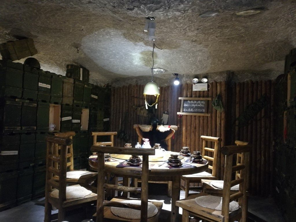 Dans le restaurant au décors d'un film très populaire en Chine