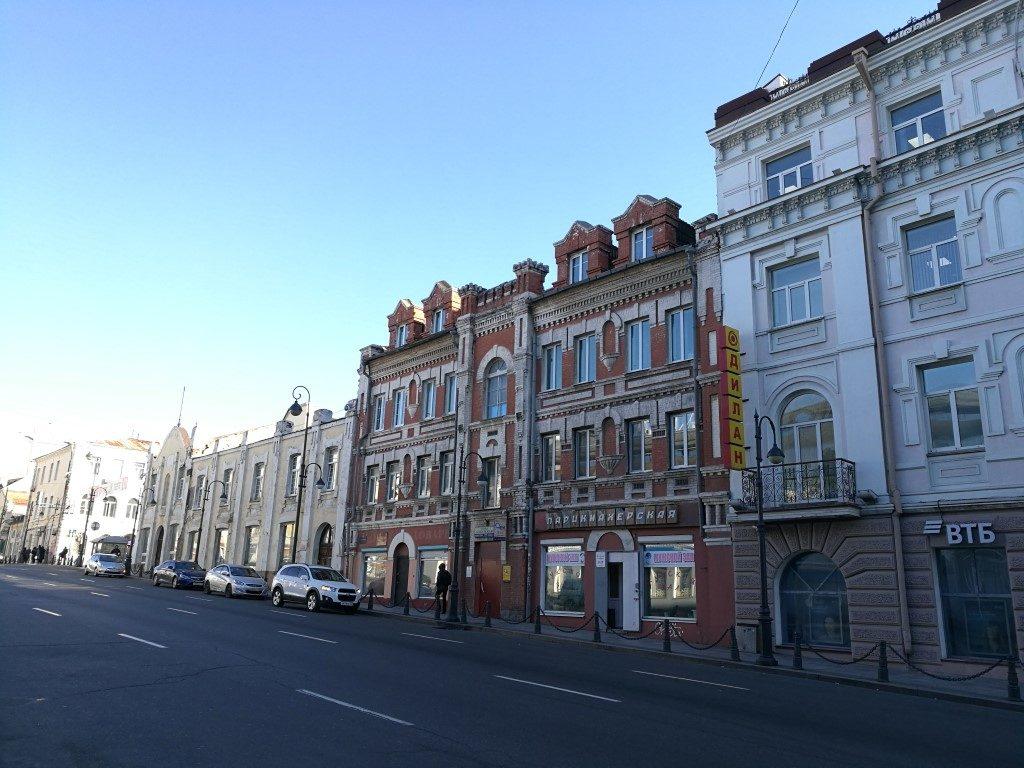 Une des rues de Vladivostok