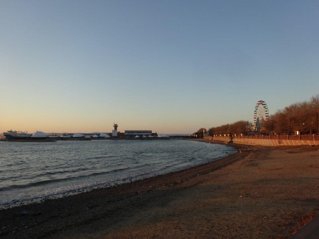 La plage de Vladivostok