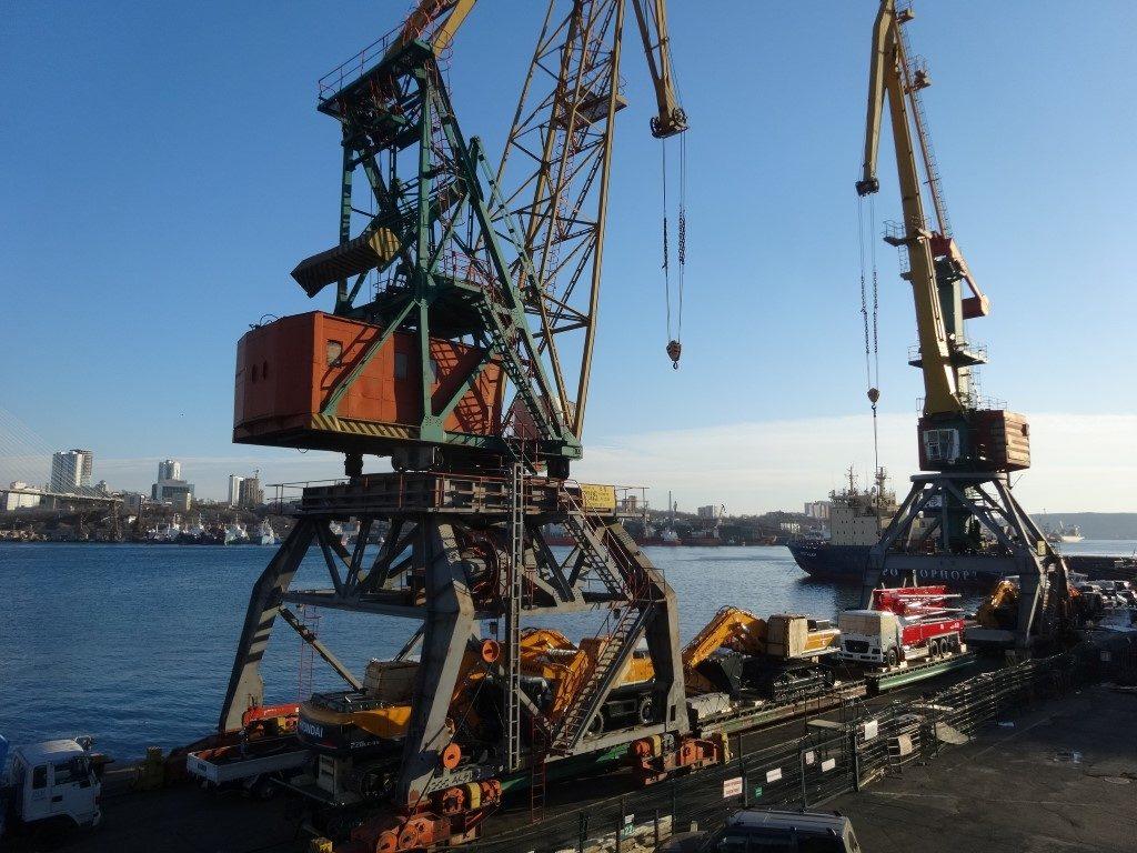 Le port industriel de Vladivostok