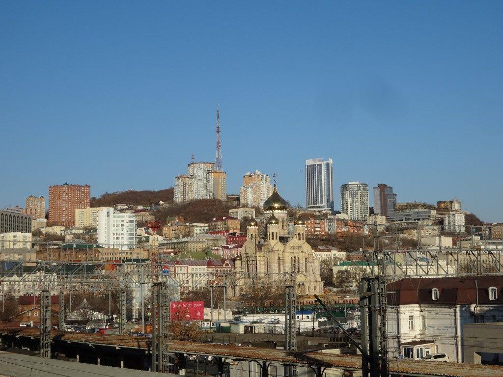 Les hauteurs de Vladivostok