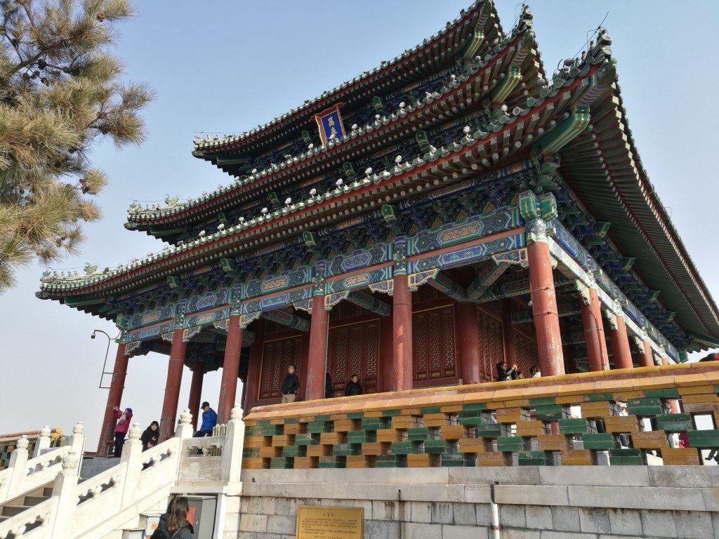 Jingshan Park, lieu de repos des Empereurs Chinois à l'époque où il faisait partie de la Cité Interdite
